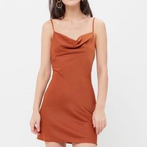 Cowl Neck Mallory Urban Outfitters Slip Dress